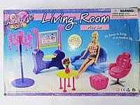 Игрушечная мебель для куклы Гостиная комната