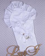 Конверт - одеяло на выписку Мечта белый