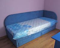 Детская подростковая кровать с выдвижными ящиками для хранения