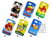 Пластиковый чехол Angry Birds для HTC Wildfire S