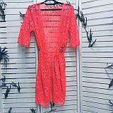 Стильная женская пляжная накидка туника, фото 5