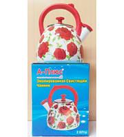 Чайник эмаль A-Plus 2.8 л