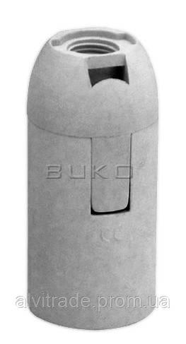 Патрон BUKO BK260 E14 пластиковый, белый