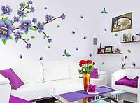 Декоративная  наклейка Цветущая ветка  (170х100см), фото 1