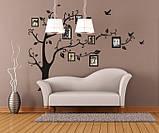 Декоративная  наклейка Семейное дерево  (118х88см), фото 3