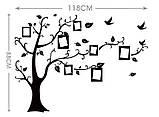 Декоративная  наклейка Семейное дерево  (118х88см), фото 5
