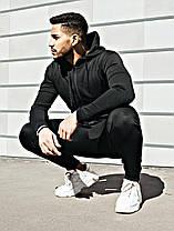 Модный молодёжный спортивный костюм из дайвинга  S, M, L, XL, фото 2