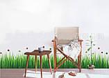 Декоративная  наклейка Трава  (140х40см), фото 6