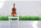 Декоративная  наклейка Трава  (140х40см), фото 8