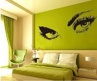 Декоративная  наклейка Глаза