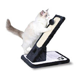 "Trixie Когтеточка ""доска"" наклонная, 30х42х40см., черный/белый."