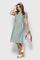 """Практичное хлопковое платье """"Кристина 2"""" BeArt"""
