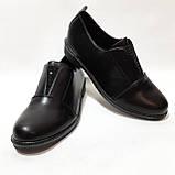38,39, р. Жіночі весняні туфлі на низькому ходу з невеликим каблуком красиві модні, фото 2
