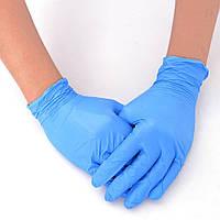 Перчатки латексные Gloves  размер M ( 100 шт в упаковке)