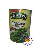 Горошек зеленый Kwidzyn ж/б 400г