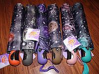 Женский зонт полуавтомат Роза(остались с cерой ручкой)