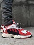 Женские кроссовки Adidas Yung 1 Red, Женские Адидас Янг 1 Красные, фото 9