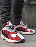 Женские кроссовки Adidas Yung 1 Red, Женские Адидас Янг 1 Красные, фото 8