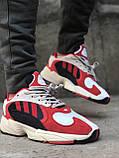 Женские кроссовки Adidas Yung 1 Red, Женские Адидас Янг 1 Красные, фото 5