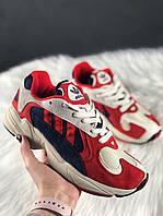 🔥 Adidas Yung 1 Red Адидас Янг 1 🔥 Адидас женские кроссовки 🔥