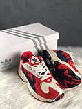 Женские кроссовки Adidas Yung 1 Red, Женские Адидас Янг 1 Красные, фото 3