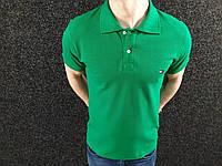 Мужская футболка поло Tommy Hilfiger Зелена
