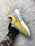 Женские кроссовки Adidas ZX 500 Bold Gold, Женские Адидас З Икс 500 Желтые, фото 6