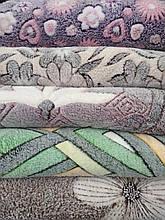 Плед з мікрофібри Паркет євро розмір