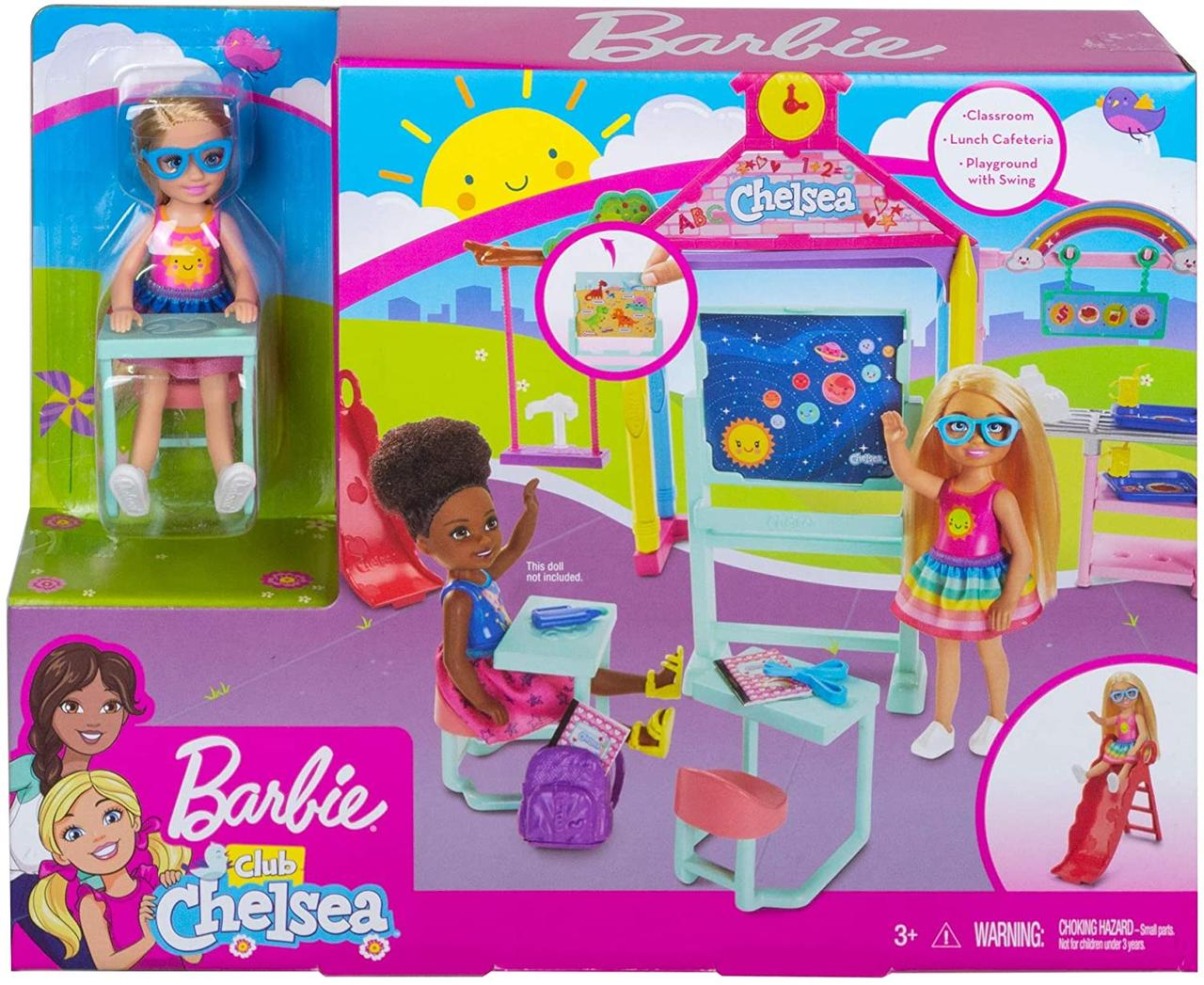 Набор Барби Челси идет в школу Barbie Club Chelsea and School