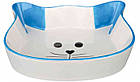 Керамическая миска кошачья мордочка для котов 0.25 л, Trixie, фото 3