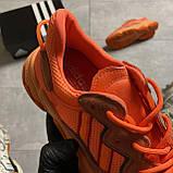 Женские кроссовки Adidas Ozweego Orange Red, Женские Адидас Озвиго Оранжевые, фото 4