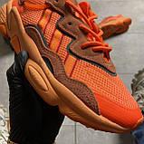 Женские кроссовки Adidas Ozweego Orange Red, Женские Адидас Озвиго Оранжевые, фото 9