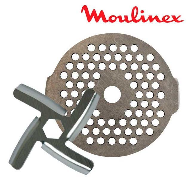 Сито и нож для мясорубки Moulinex