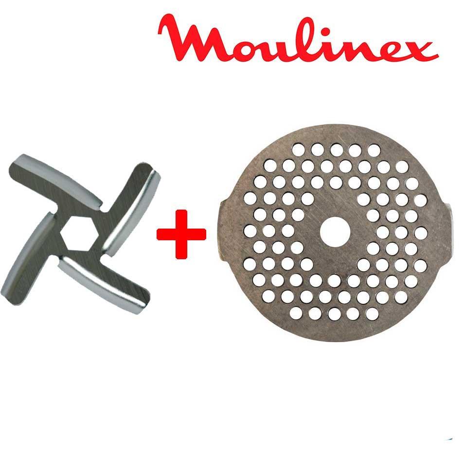 Нож и сетка для мясорубки Moulinex (комплект) MS-0926063