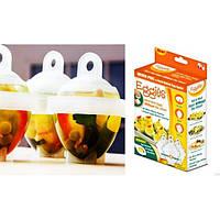 Формы для варки яиц без скорлупы / Яйцеварка Eggies 6 шт.