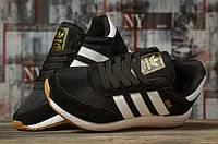 Кроссовки женские Adidas Iniki, черные, Женская обувь Адидас, весна/осень