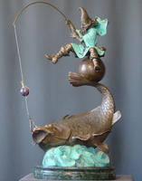 Фигура на рыбе (удача)