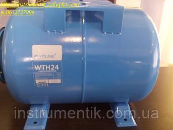 Гідроакумулятор Kitline 24 горизонтальний