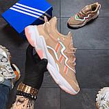 🔥 РЕФЛЕКТИВ 🔥 Adidas Ozweego Beige Адидас Озвиго 🔥 ВИДЕО ОБЗОР 🔥 Адидас женские кроссовки 🔥, фото 2
