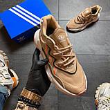🔥 РЕФЛЕКТИВ 🔥 Adidas Ozweego Beige Адидас Озвиго 🔥 ВИДЕО ОБЗОР 🔥 Адидас женские кроссовки 🔥, фото 3