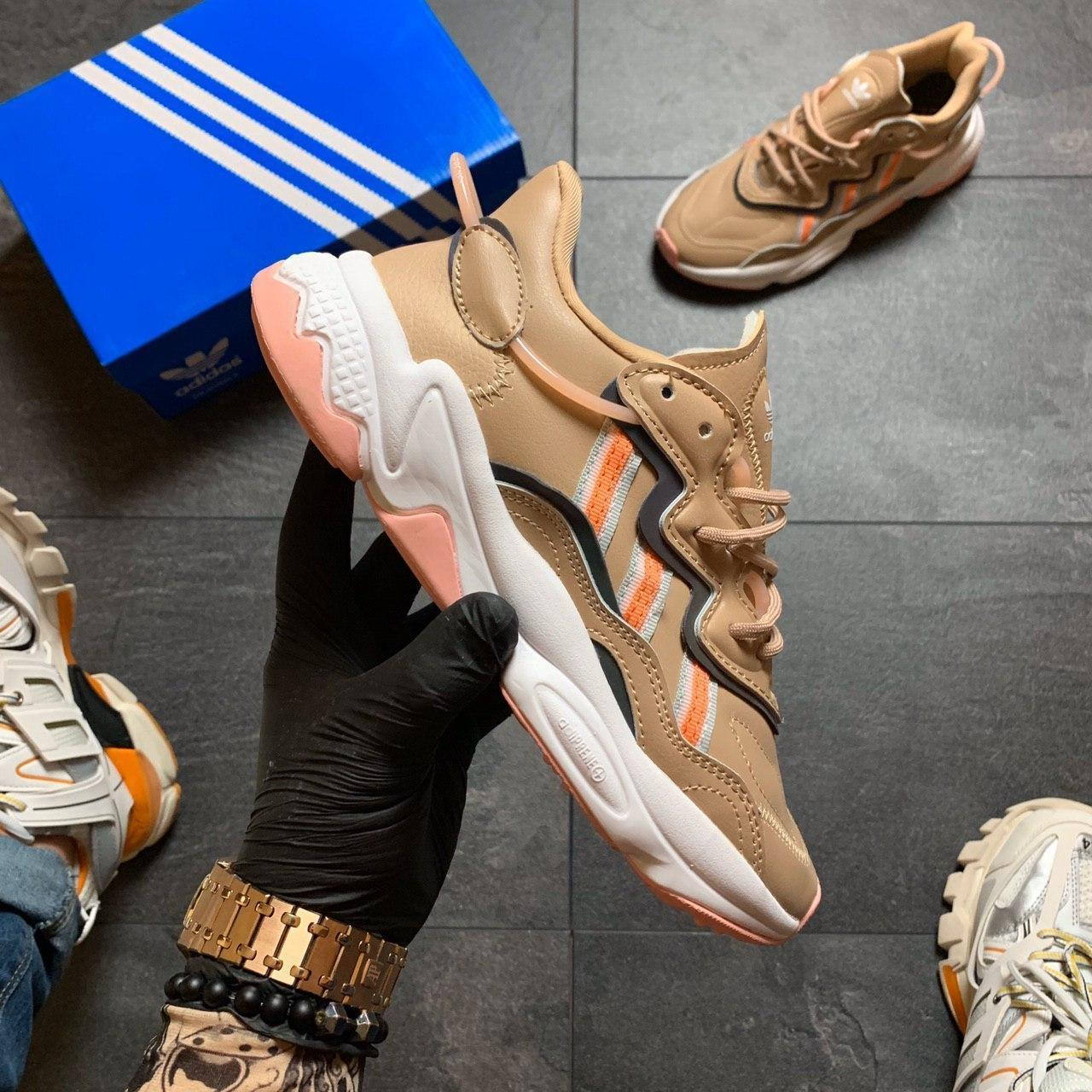 🔥 РЕФЛЕКТИВ 🔥 Adidas Ozweego Beige Адидас Озвиго 🔥 ВИДЕО ОБЗОР 🔥 Адидас женские кроссовки 🔥