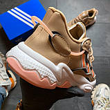 🔥 РЕФЛЕКТИВ 🔥 Adidas Ozweego Beige Адидас Озвиго 🔥 ВИДЕО ОБЗОР 🔥 Адидас женские кроссовки 🔥, фото 5