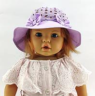 Детская панамка с 50 по 52 размер для девочки детские панамки головные уборы хлопок панама, фото 1