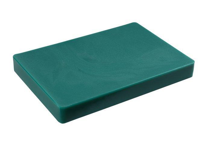 Доска разделочная пластиковая зелёного цвета 440*300*50 мм (шт)
