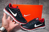 Кроссовки женские Nike Air Free 3.0, найк темно-синие, женская обувь.
