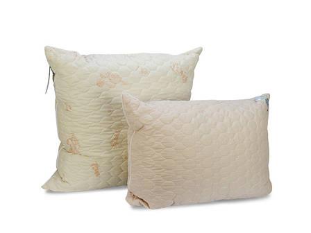 Подушка Leleka-textile Овен 70*70 см микрофибра с овечьей шерстью/холлофайбер М8, фото 2