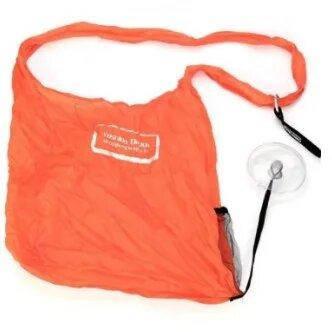 Складная компактная сумка-шоппер Shopping bag to roll up Красный