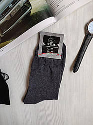 "Носки мужские  ""Житомир"" размер 41-45, цвет серый"