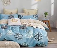 Комплект постельного белья полуторный Лесной бор Kids Premium CottonTwill (сатин)