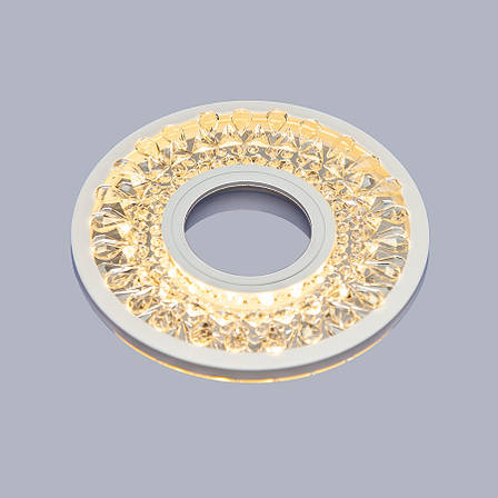 Белый светильник с лэд лентой (12см), фото 2